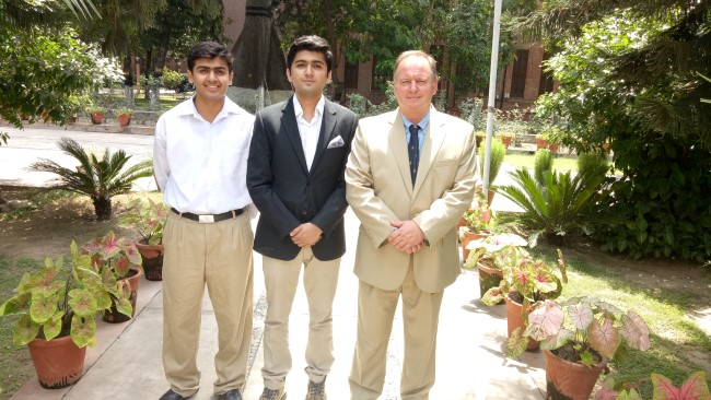 Aitchisonian represents Pakistan at International Young Physicists' Tournament